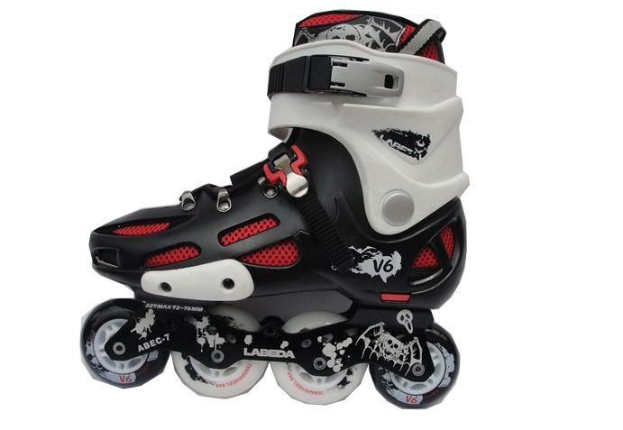 Mẫu giày trượt patin 2 hàng bánh.