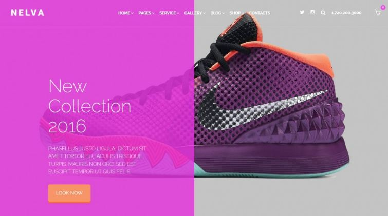 Top 10 mẫu website bán giày online đẹp nhất