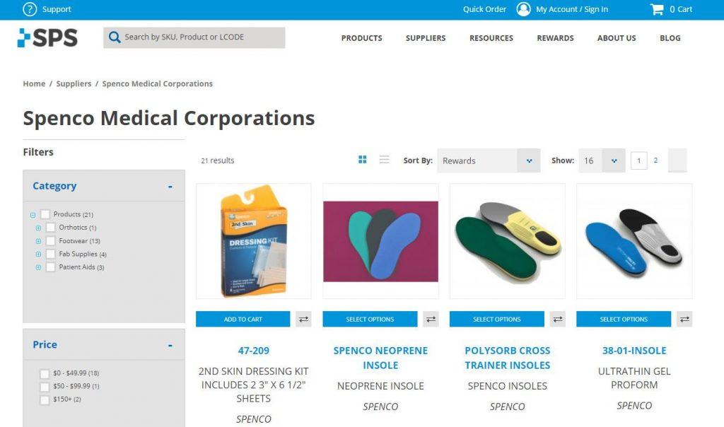 thương hiệu giày y tếSPENCO MEDICAL